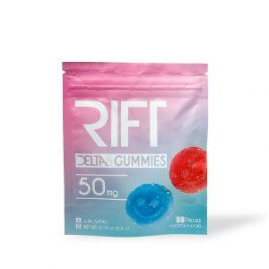 Rift Delta 8 Gummies 50MG – (2pk)